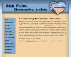 High Plains Decorative Artists